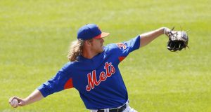 New York Mets' Noah Syndergaard Throws Off Mound (Video) 2