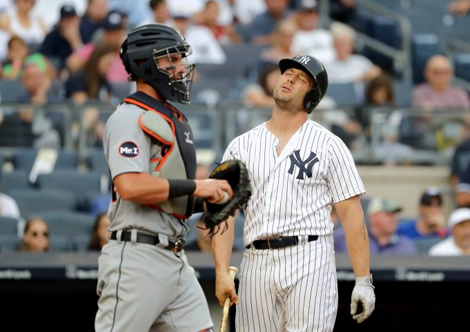 New York Yankees Place Matt Holliday On DL For Second Time