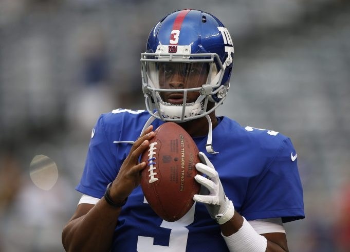 Giants' Geno Smith Uses Wrong MetLife Entrance, Plays to Trademark Strange Standards (Highlights)