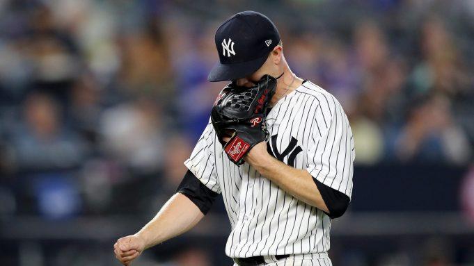 New York Yankees Sonny Gray