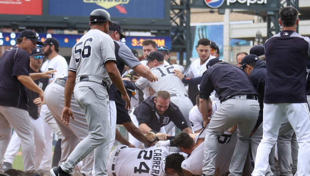 New York Yankees Midday Brawl With Detroit Tigers Ends In 10-6 Defeat (Highlights) 1
