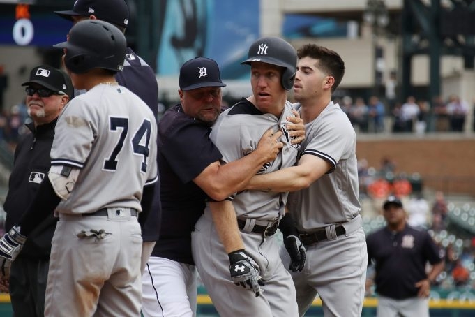 MLB Announces Suspensions For New York Yankees-Tigers Fight
