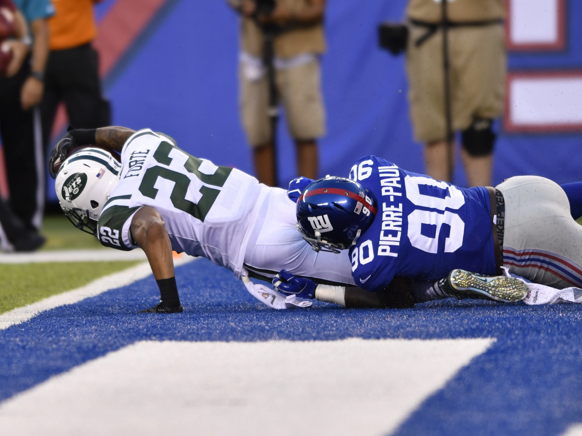 New York Jets: O-Line's Epic Failures, Muhammad Wilkerson's Struggles at DE (Film Room) 1