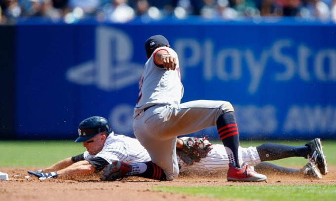New York Yankees' Bats Silent in Game 1 of Double-Dip With Tribe, Fall 2-1 (Highlights)