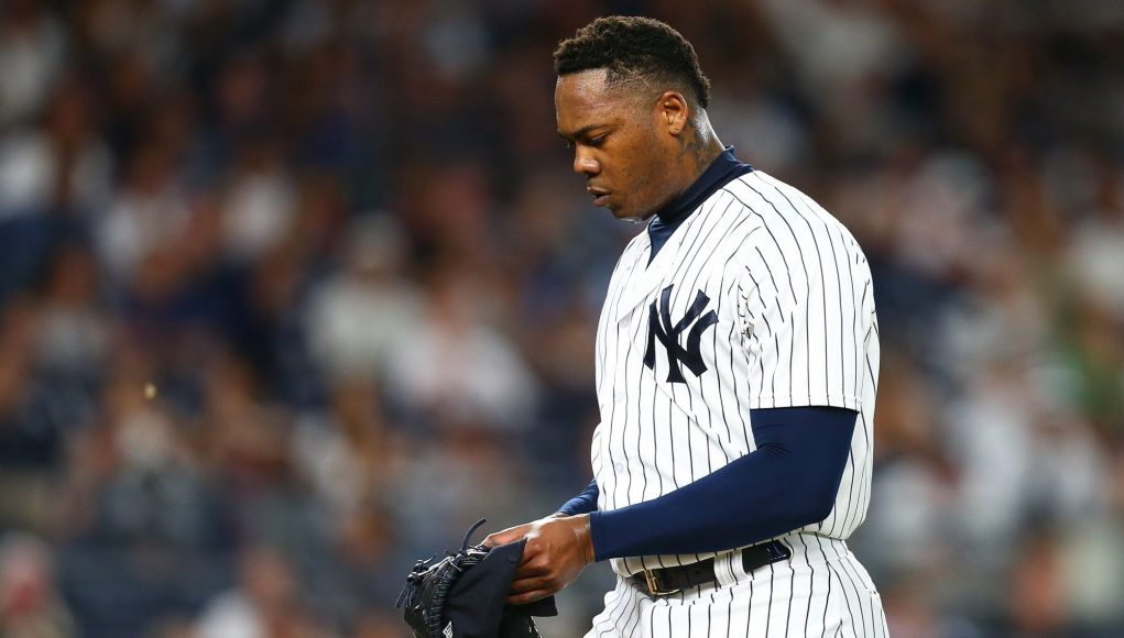 It's Time For The New York Yankees To Remove Aroldis Chapman as Closer