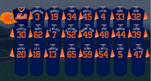 New York Mets Reveal Jerseys, Nicknames For MLB Players' Weekend