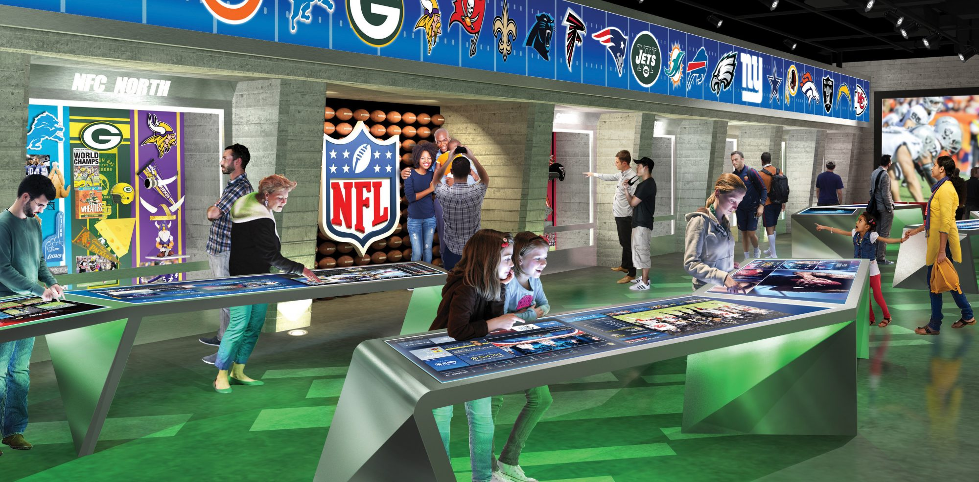 NFL Experience: Fans Will Soon Realize Football Heaven in Times Square 5