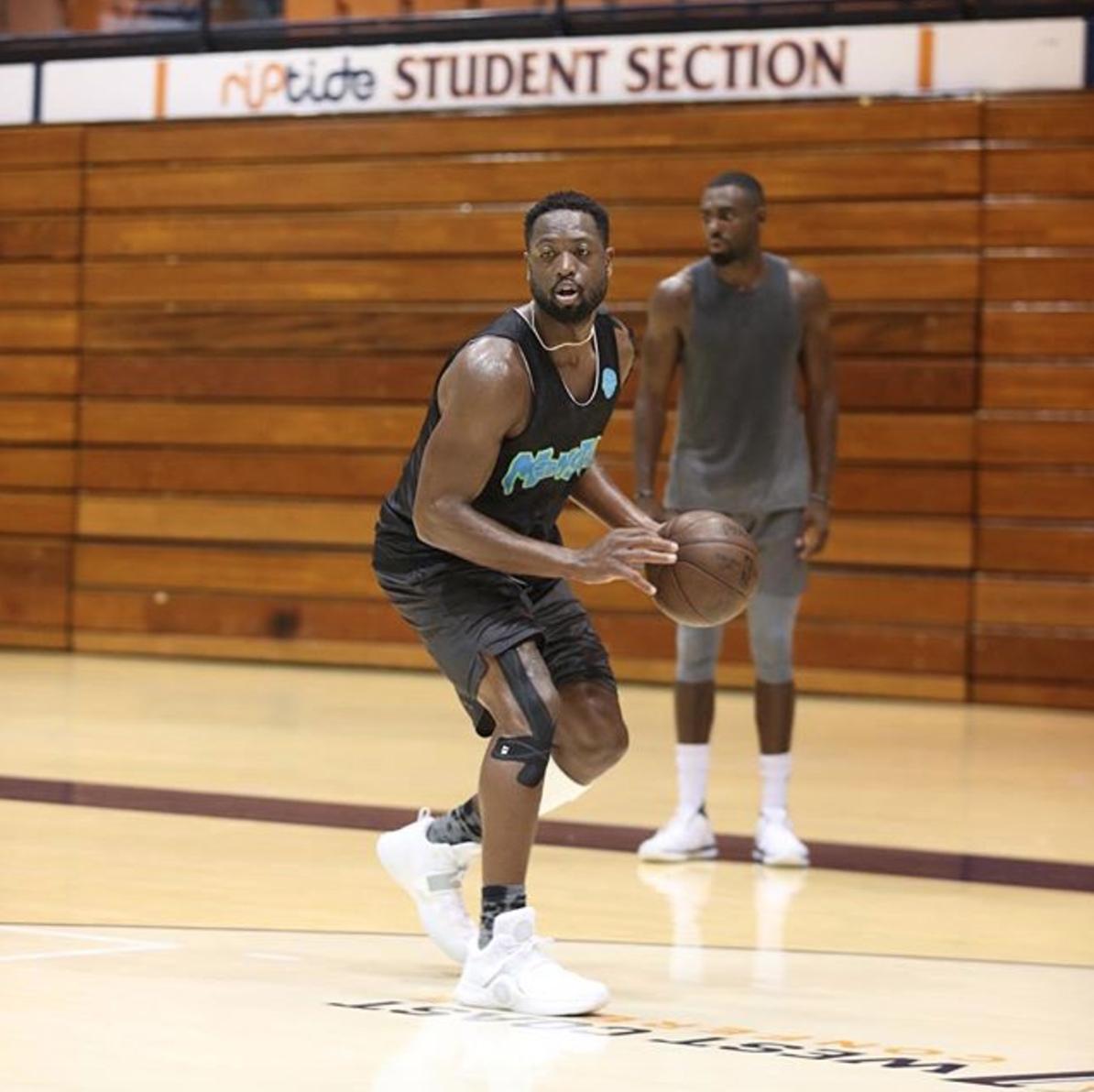 Dwyane Wade Workout: New York Knicks: Tim Hardaway Jr. Works Out With Dwyane Wade