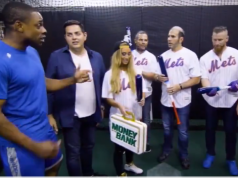 New York Mets: WWE Stars Take Batting Practice With Curtis Granderson At Citi Field (Video)