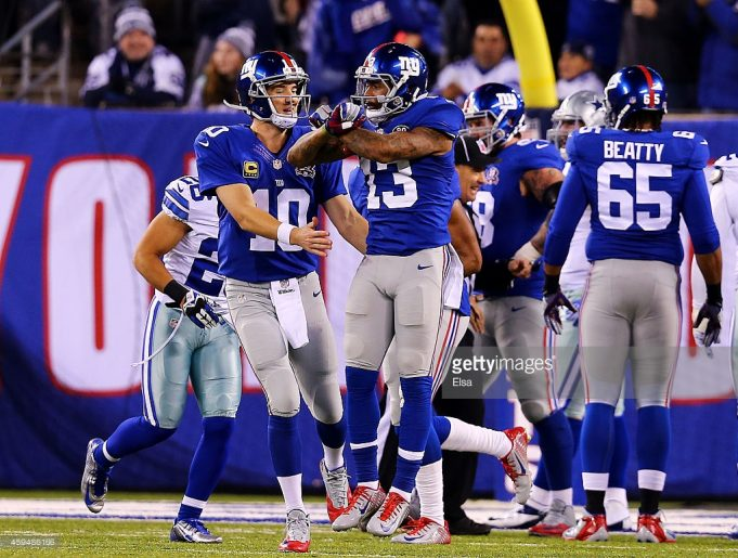 New York Giants-Dallas Cowboys Once Again Open Season in Prime Time