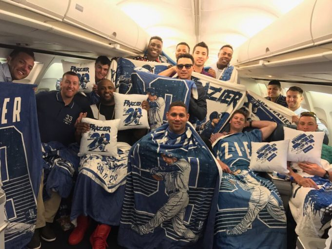 New York Yankees Show Love For Todd Frazier in Creepiest Way