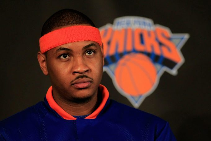 Carmelo Anthony, New York Knicks, NBA