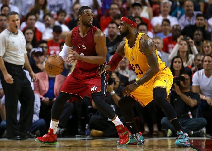 Dwyane Wade Won't Help Cleveland Dethrone Golden State 1