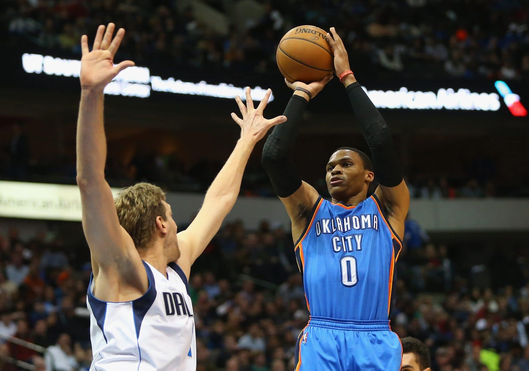 Russell Westbrook Gets Paid While Dirk Nowitzki Gets Donations