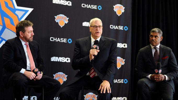 New York Knicks Phil Jackson