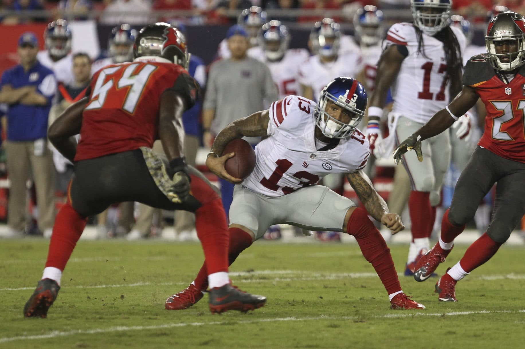 New York Giants @ Tampa Bay Buccaneers Preview: Desperation Time Down South 1