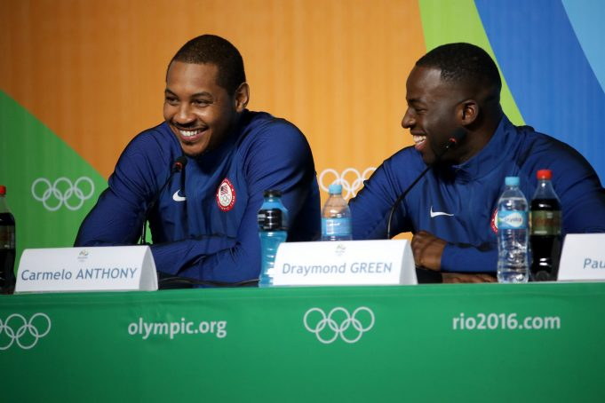 Draymond Green Comes To Carmelo Anthony's Defense