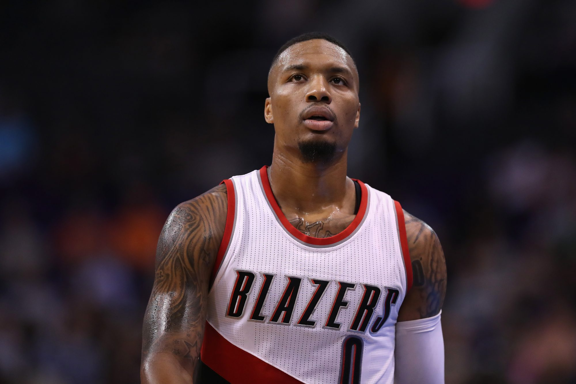 Damian Lillard: 'I'm Not Giving Up' on Recruiting Carmelo Anthony