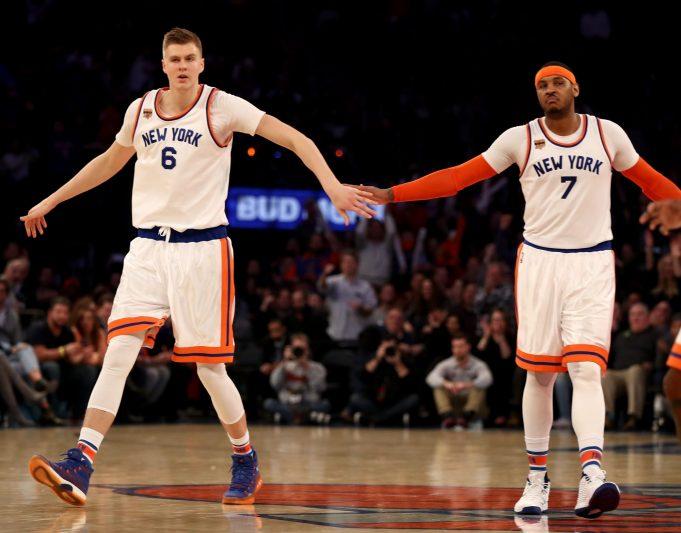 New York Knicks News Mix, 9/10/17: Carmelo Anthony Watching EuroBasket, Texting Teammates