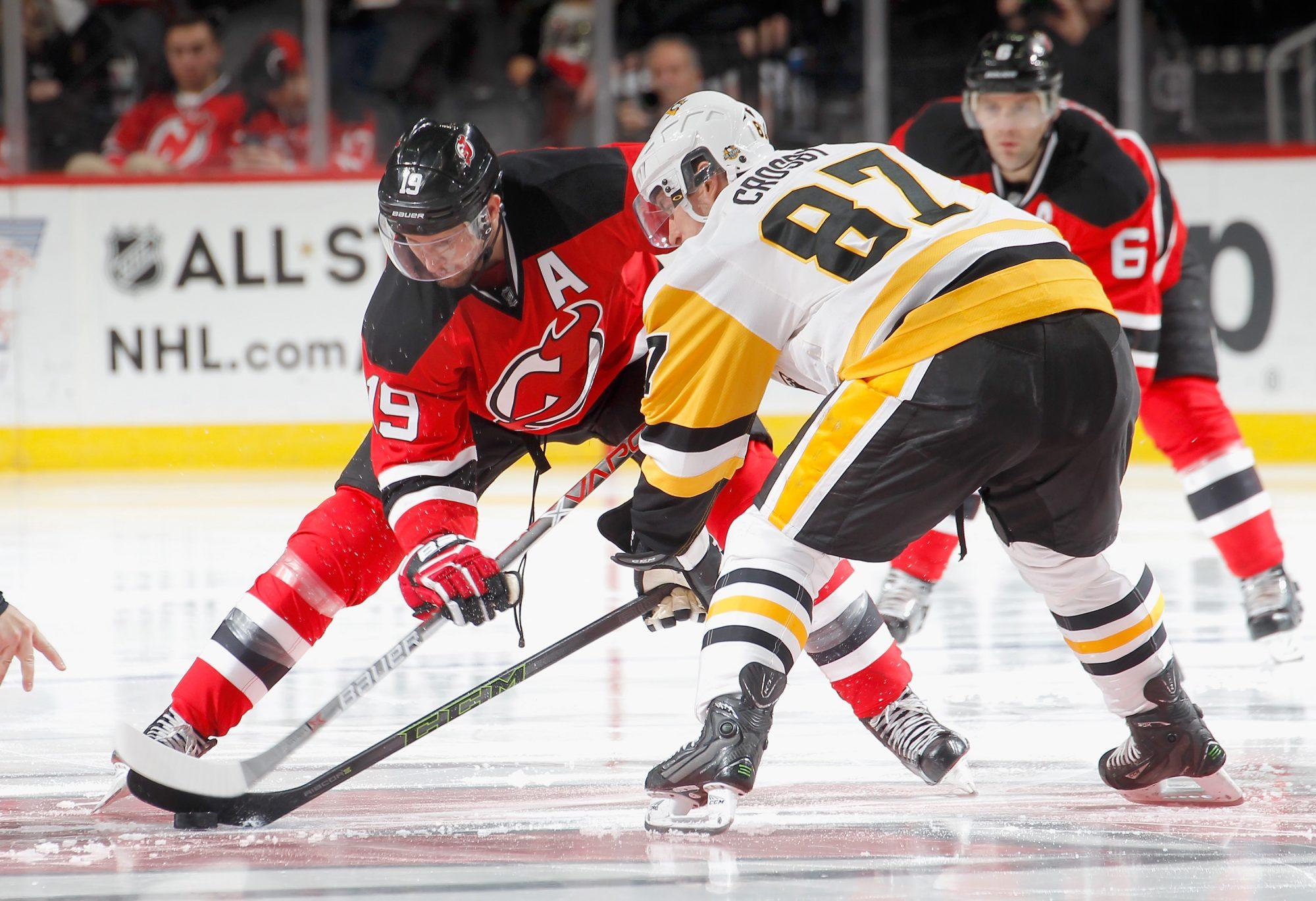 Travis Zajac New Jersey Devils