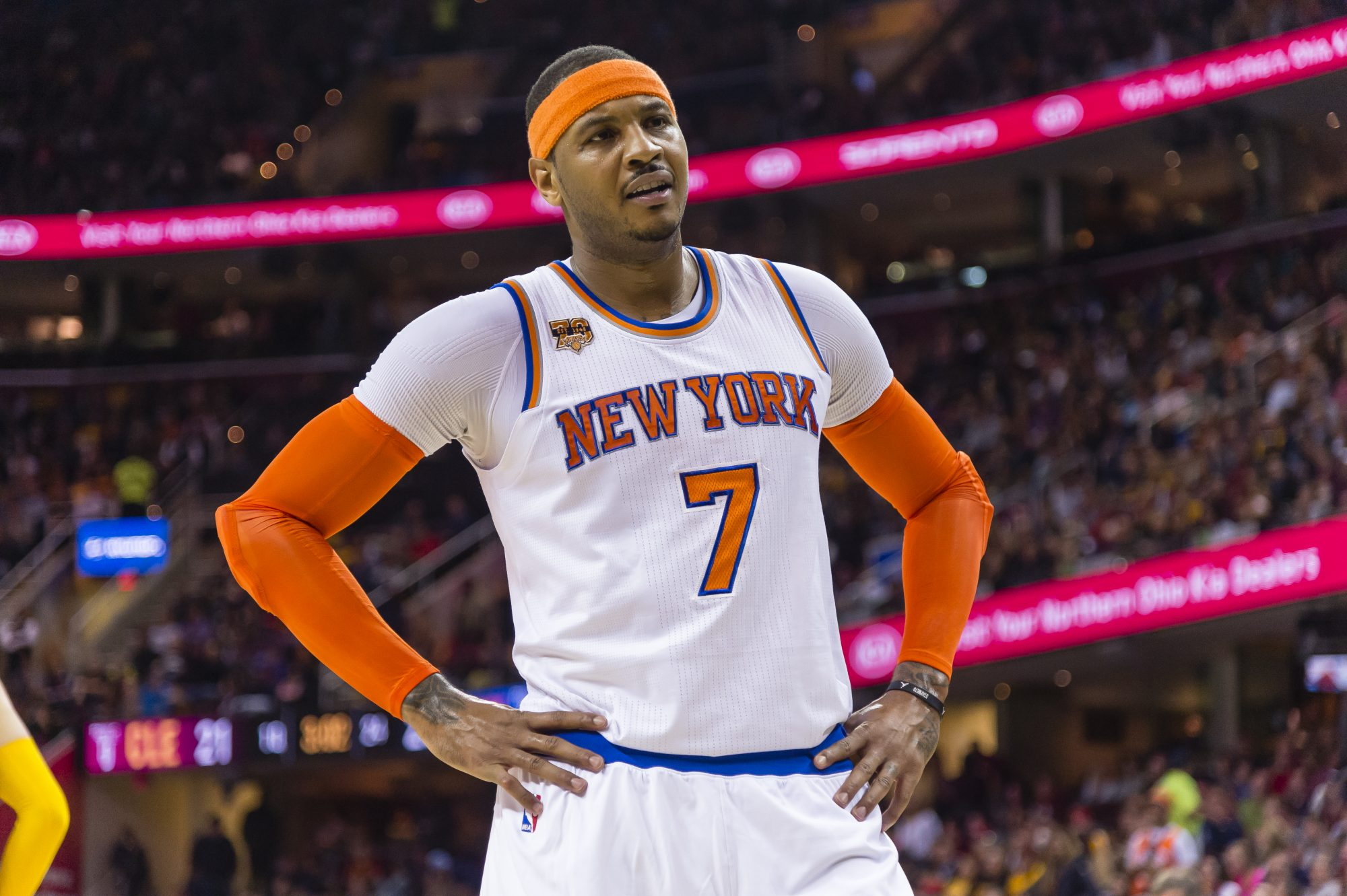 New York Knicks: Like it or Not, Carmelo Anthony Likely Isn't Going Anywhere 2