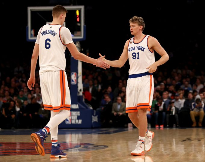 New York Knicks News Mix, 9/2/17: EuroBasket Update (KP, Willy, Kuz)