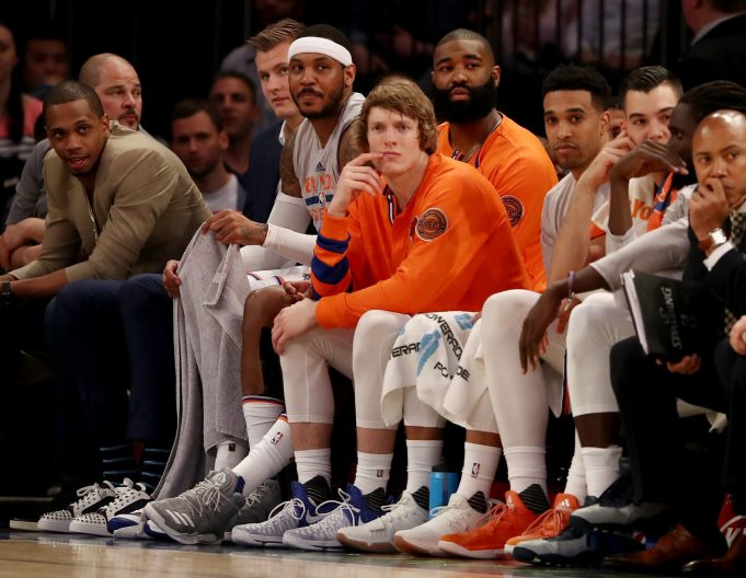Knicks GM Doesn't Think Carmelo Anthony Is Part of the Future