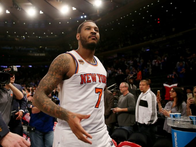 New York Knicks: Carmelo Anthony Ranks No. 37 In SI Rankings