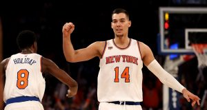 New York Knicks News Mix, 9/15/17: Willy Hernangomez Eliminated In Eurobasket, Hoodie Melo Jersey 3