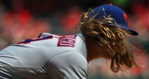 New York Mets SP Noah Syndergaard Brings The Heat In Brooklyn (Video)