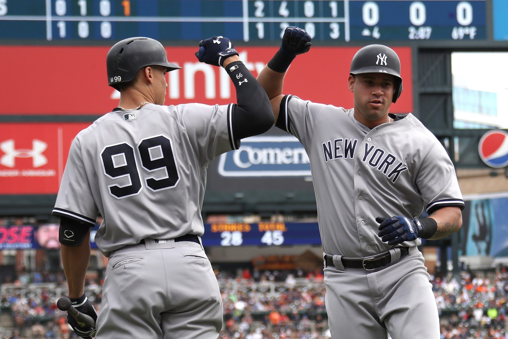 New York Yankees: All Eyes Should Be On Gary Sanchez, Not Aaron Judge