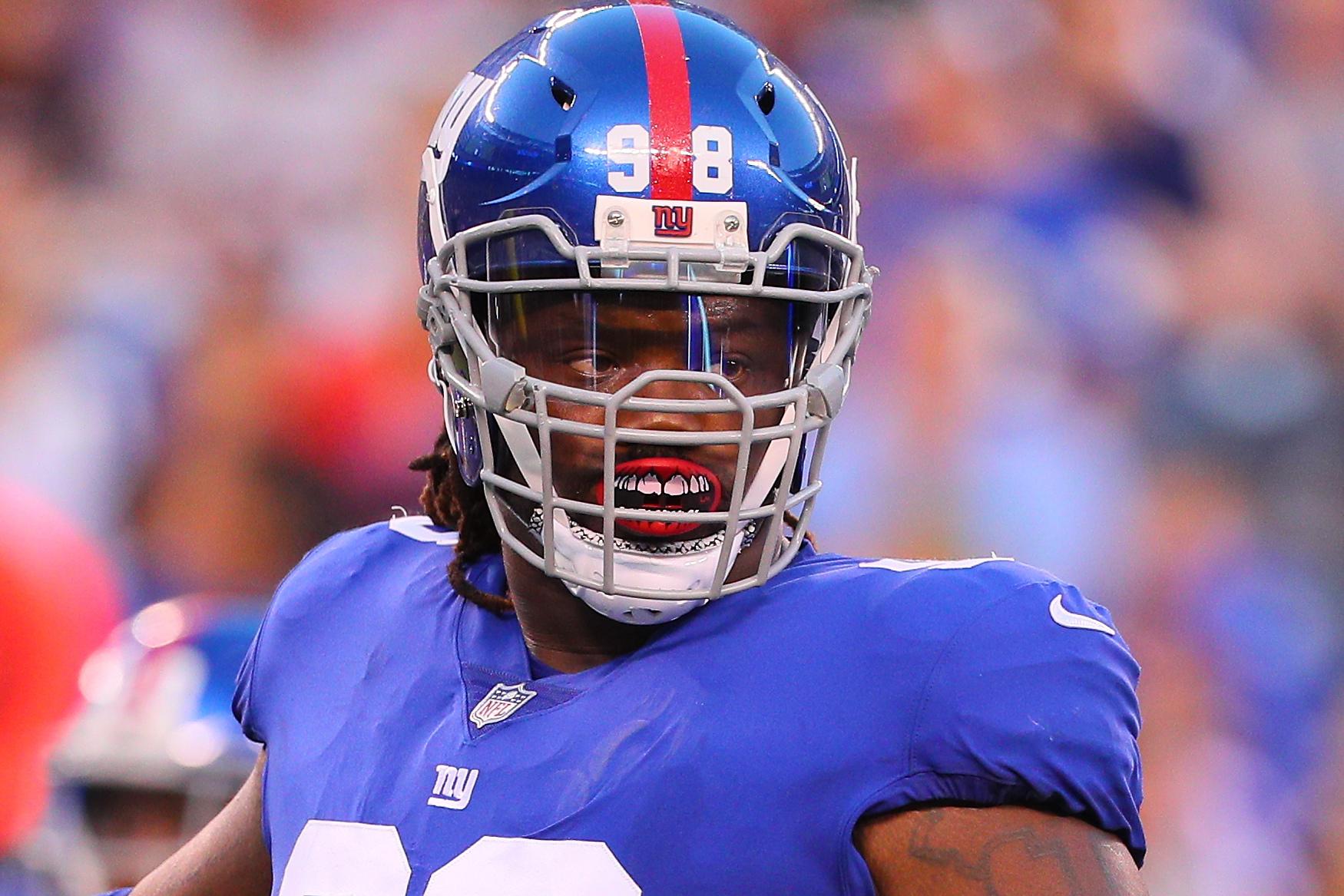 Damon Harrison, New York Giants, NFL