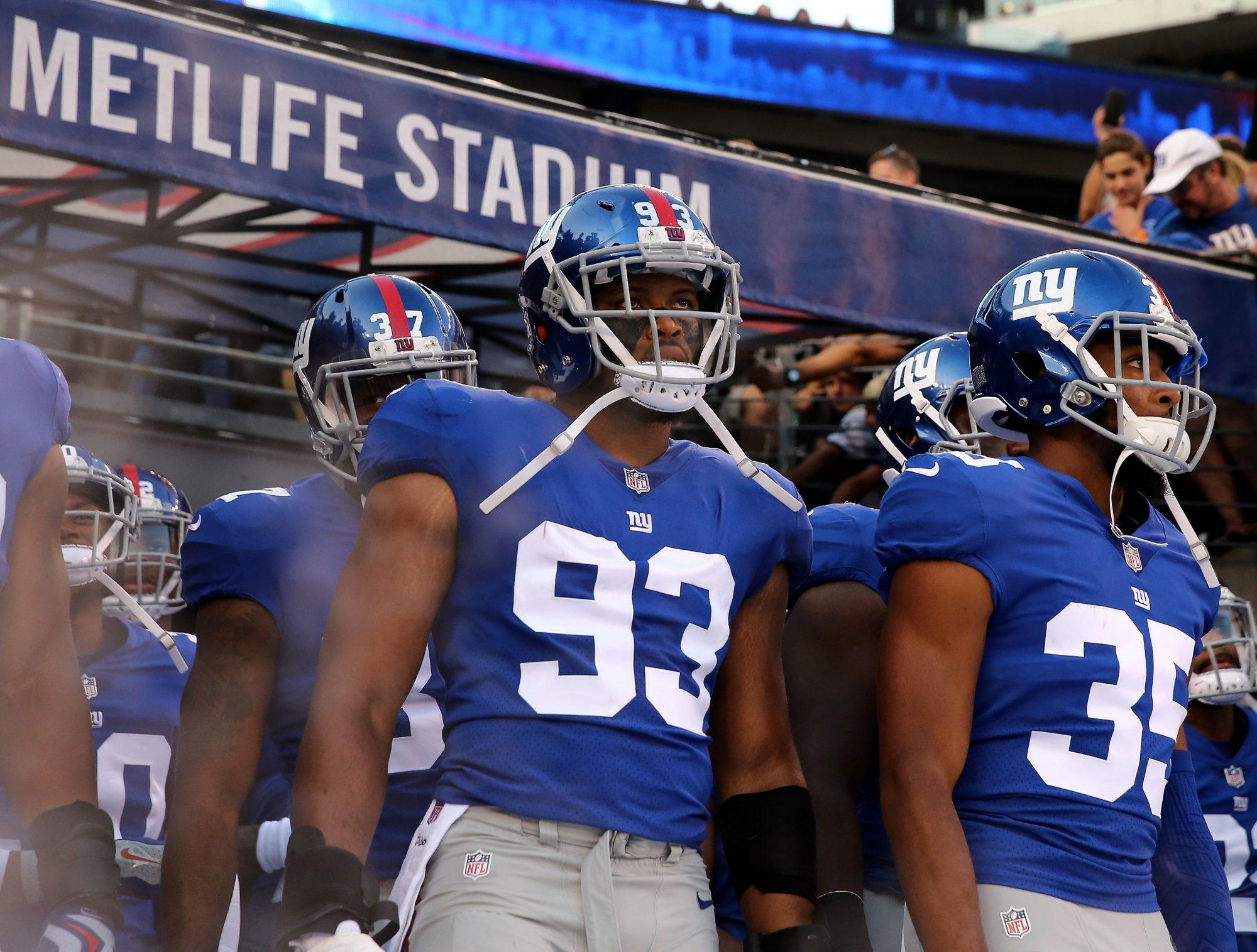 B.J. Goodson New York Giants