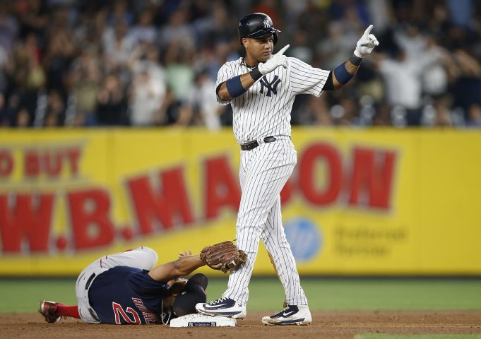 New York Yankees: Starlin Castro Out of Lineup, At Dentist
