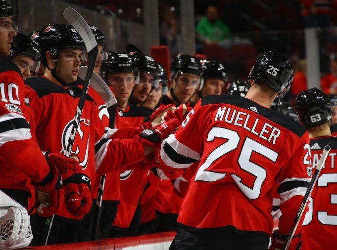 Nico Hischier, Mirco Mueller Highlight Devils Dominance over Washington 2
