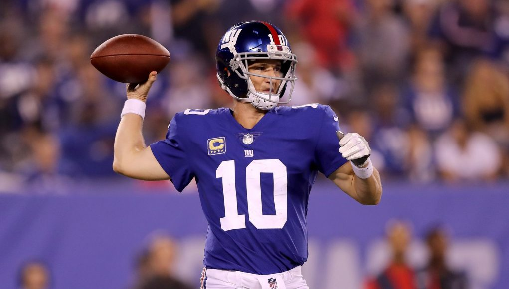 The True, Terrifying Reason Giants QB Eli Manning Can't Throw Downfield (Film Room) 1