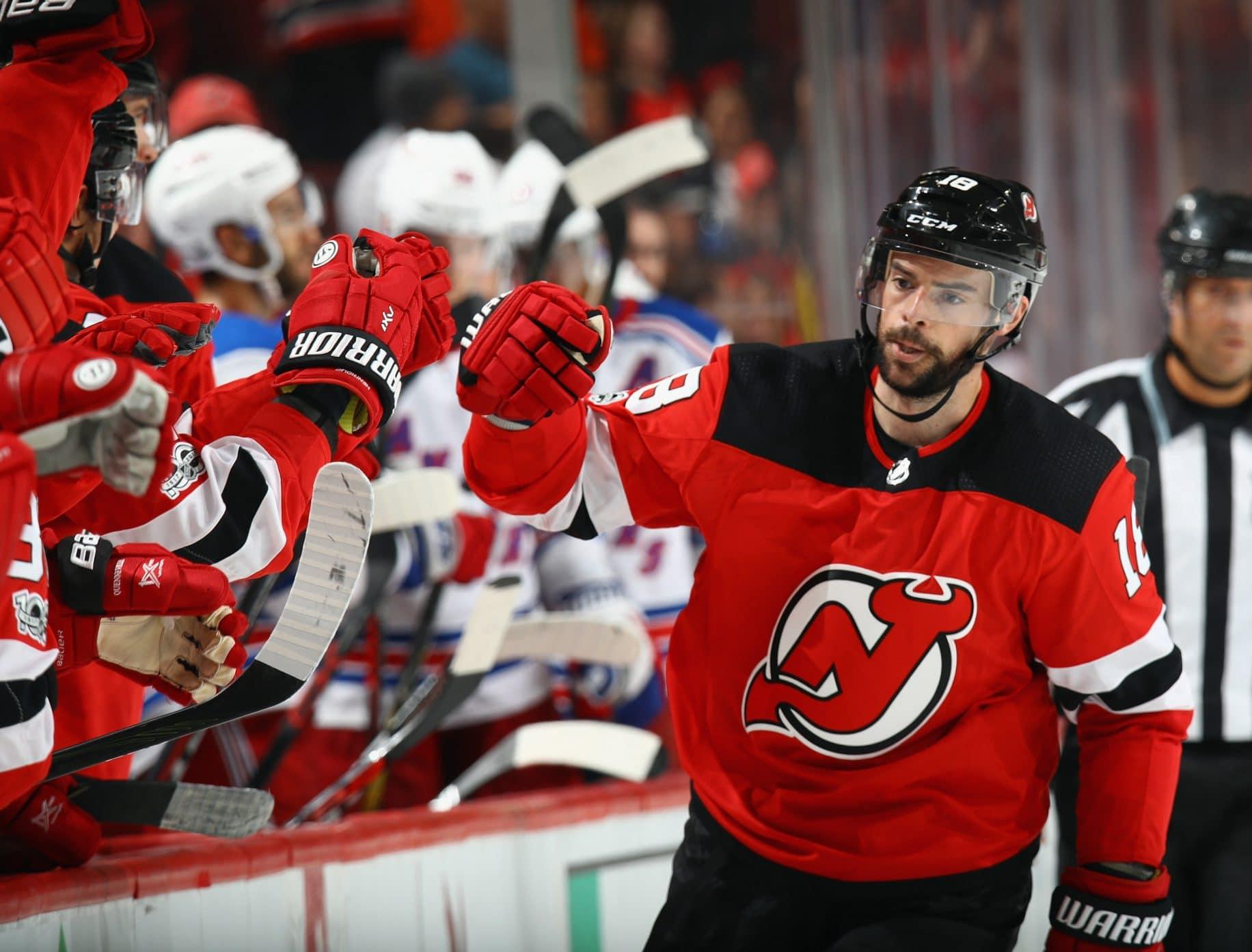 Drew Stafford New Jersey Devils