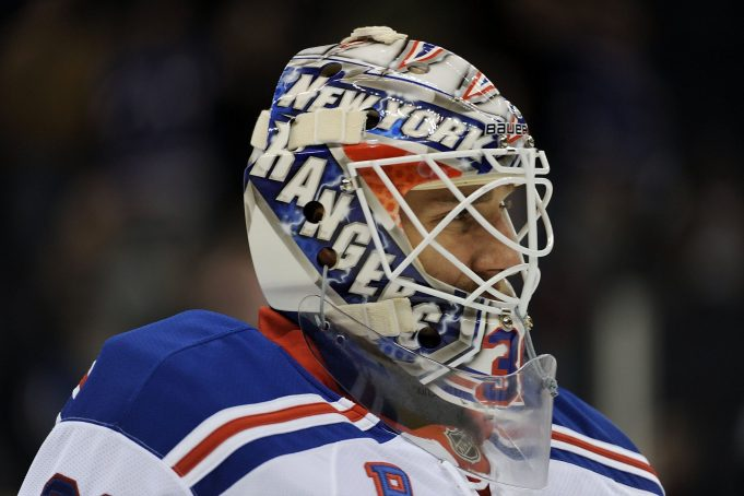 New York Rangers: Henrik Lundqvist Unveils Mask Fit For A King
