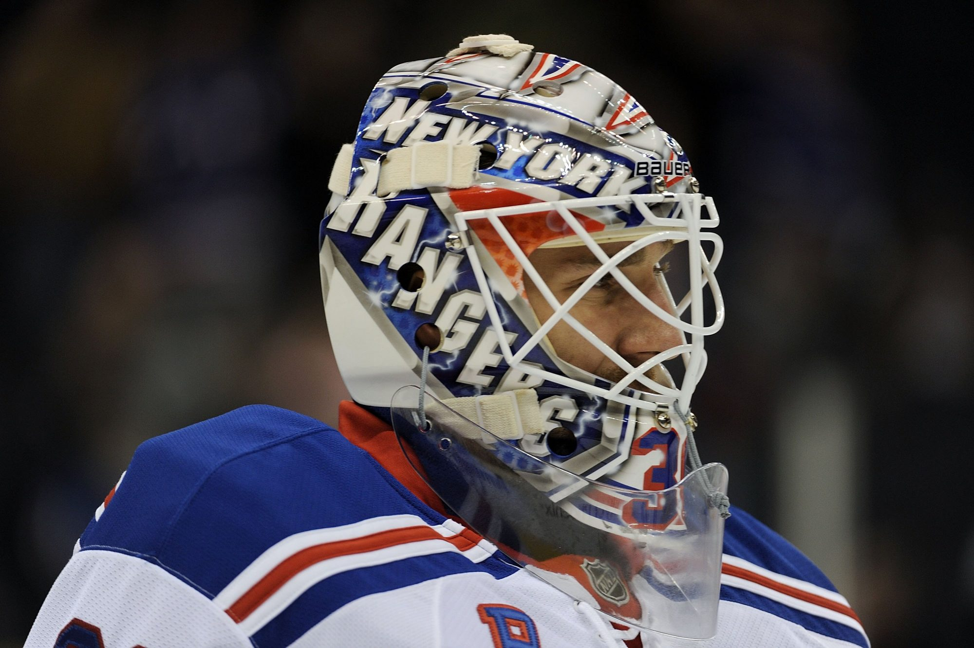 New York Rangers Henrik Lundqvist Unveils Mask Fit For A King