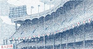 Yankee Stadium By Daniel Duffy and His Art of Words 2
