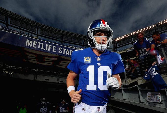 New York Giants QB Eli Manning Isn't Going Anywhere