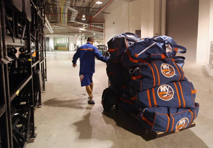 Islanders Boast Renovated Practice Facility On Snapchat
