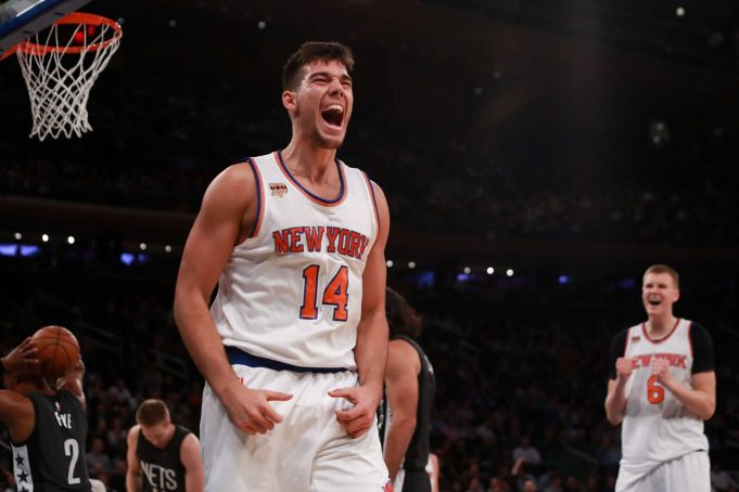 New York Knicks: Willy Hernangomez Can Still Progress in Year 2 with Lighter Role 1