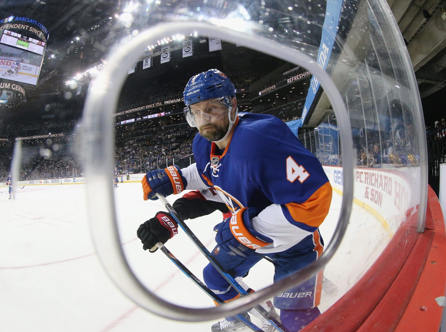 Dennis Seidenberg New York Islanders