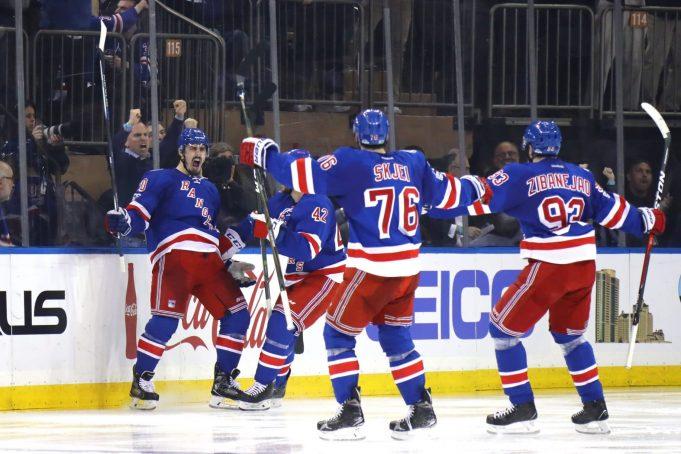 New York Rangers Snap Five-Game Losing Streak, Beat Nashville 4-2 (Highlights)