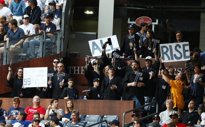 New York Yankees' Judge's Chambers Going With a Whole New Class of Fans