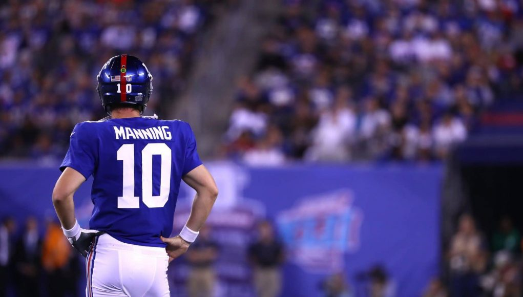 Eli Manning's Production With New York Giants Replacement WRs Will Determine Elite Status 1