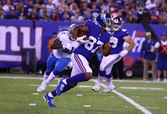 Sterling Shepard's Return Will Give Giants' Offense A Much Needed Outside Weapon 1