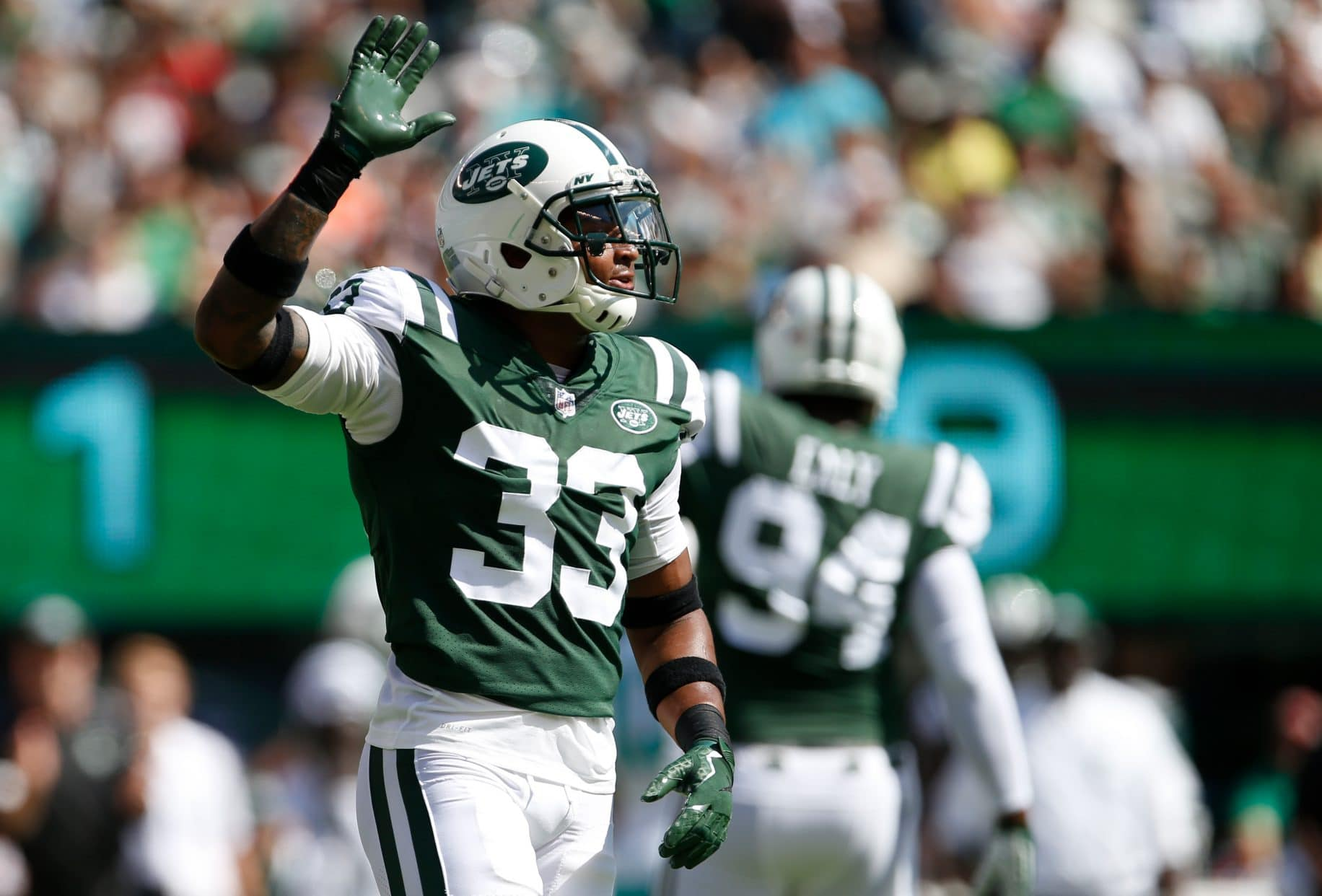 new style 7703d 0358a ESNY Film Room: New York Jets: Jamal Adams is Tom Brady's ...