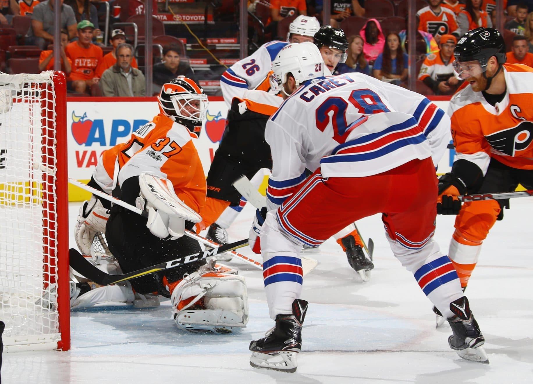 Paul Carey New York Rangers